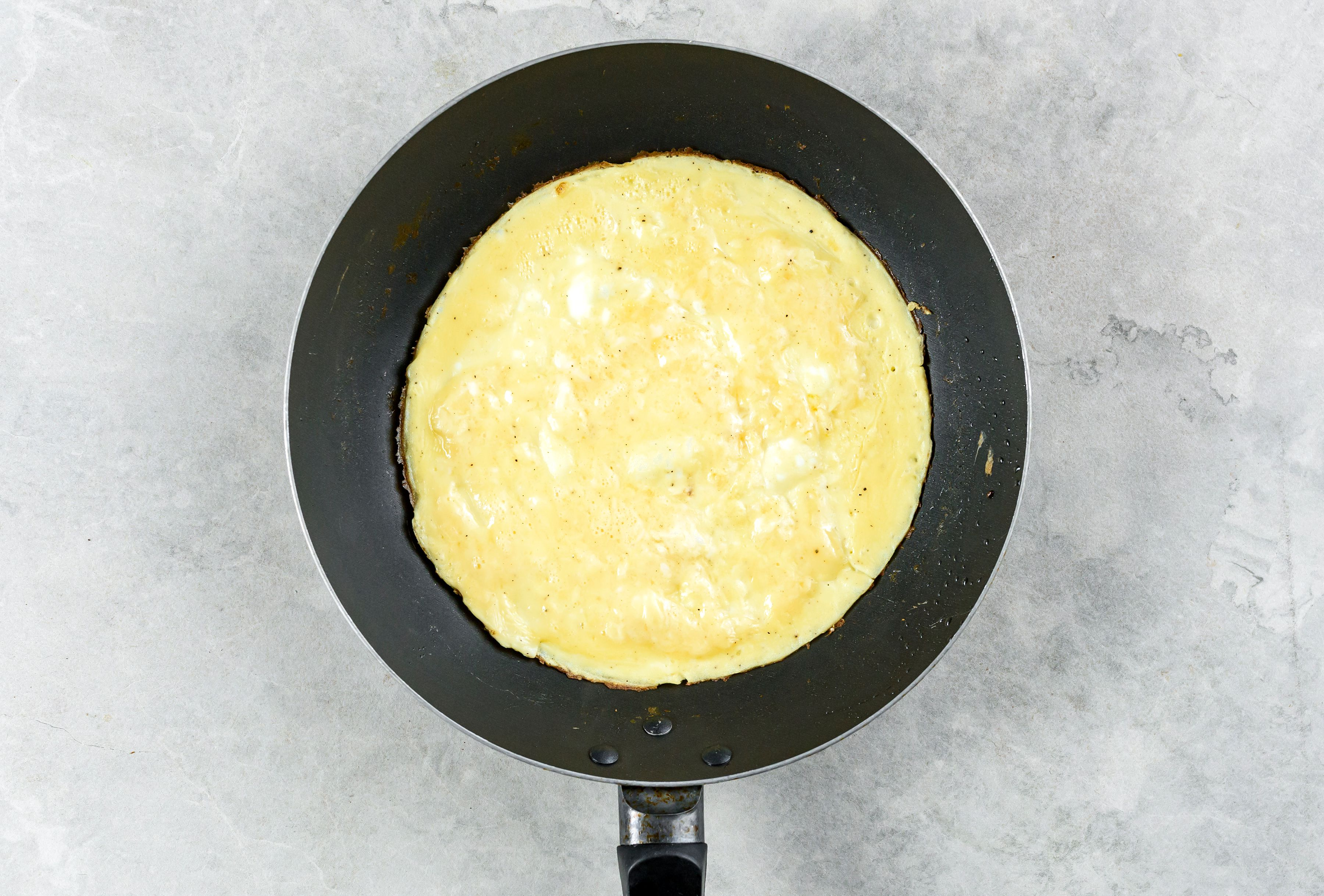 Low Calorie Bacon Omelet Recipe