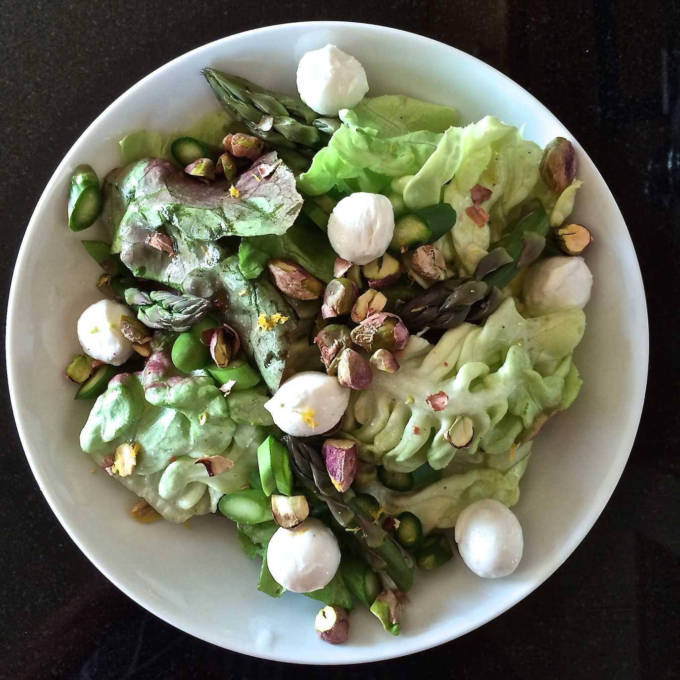 Image of Butter Lettuce Asparagus Salad