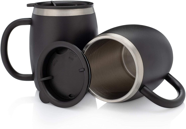 Avito Stainless Steel Coffee Mug Set