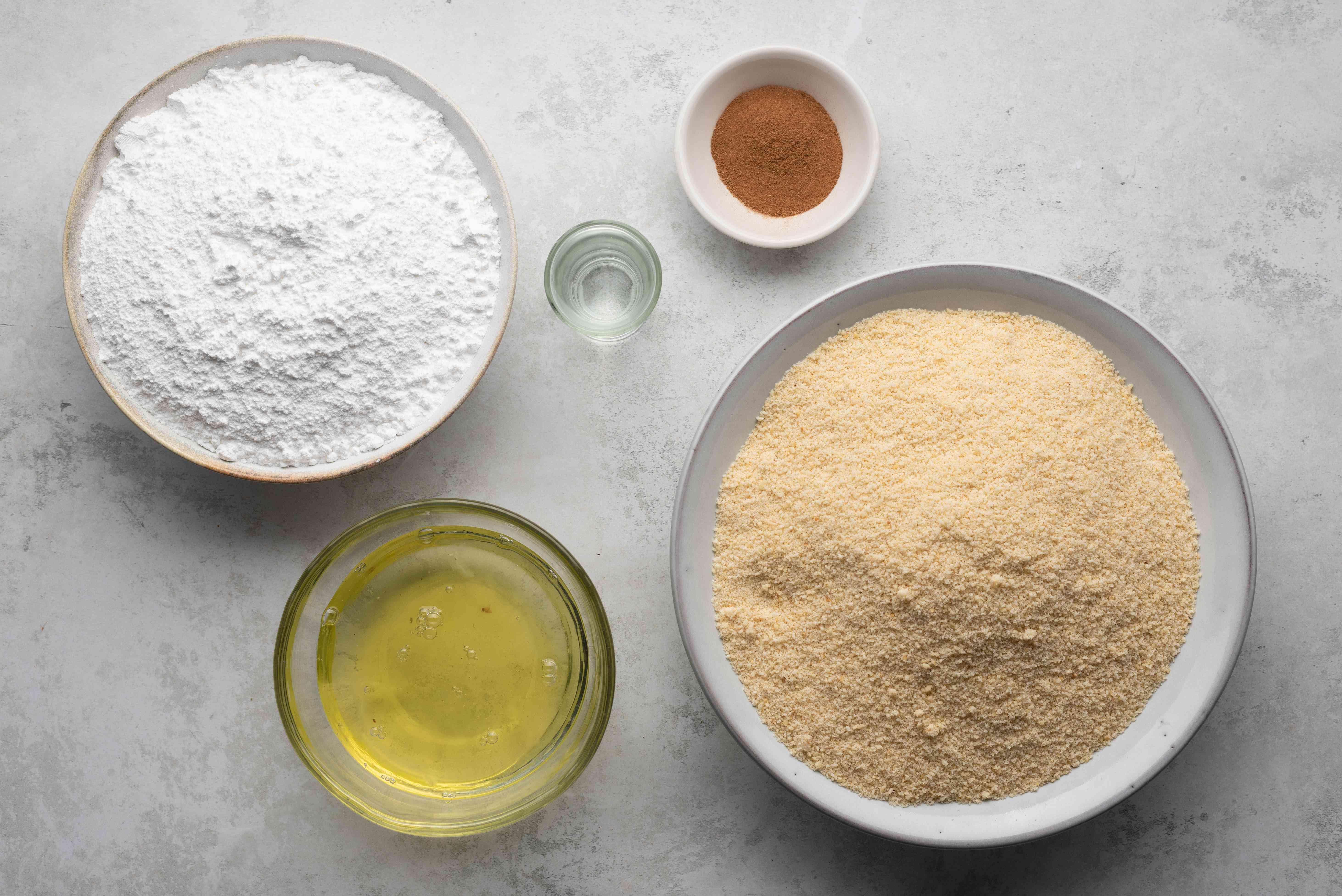 Ingredients for German zimsterne