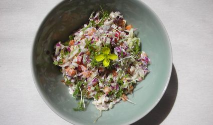 Bowl of Dutch coleslaw