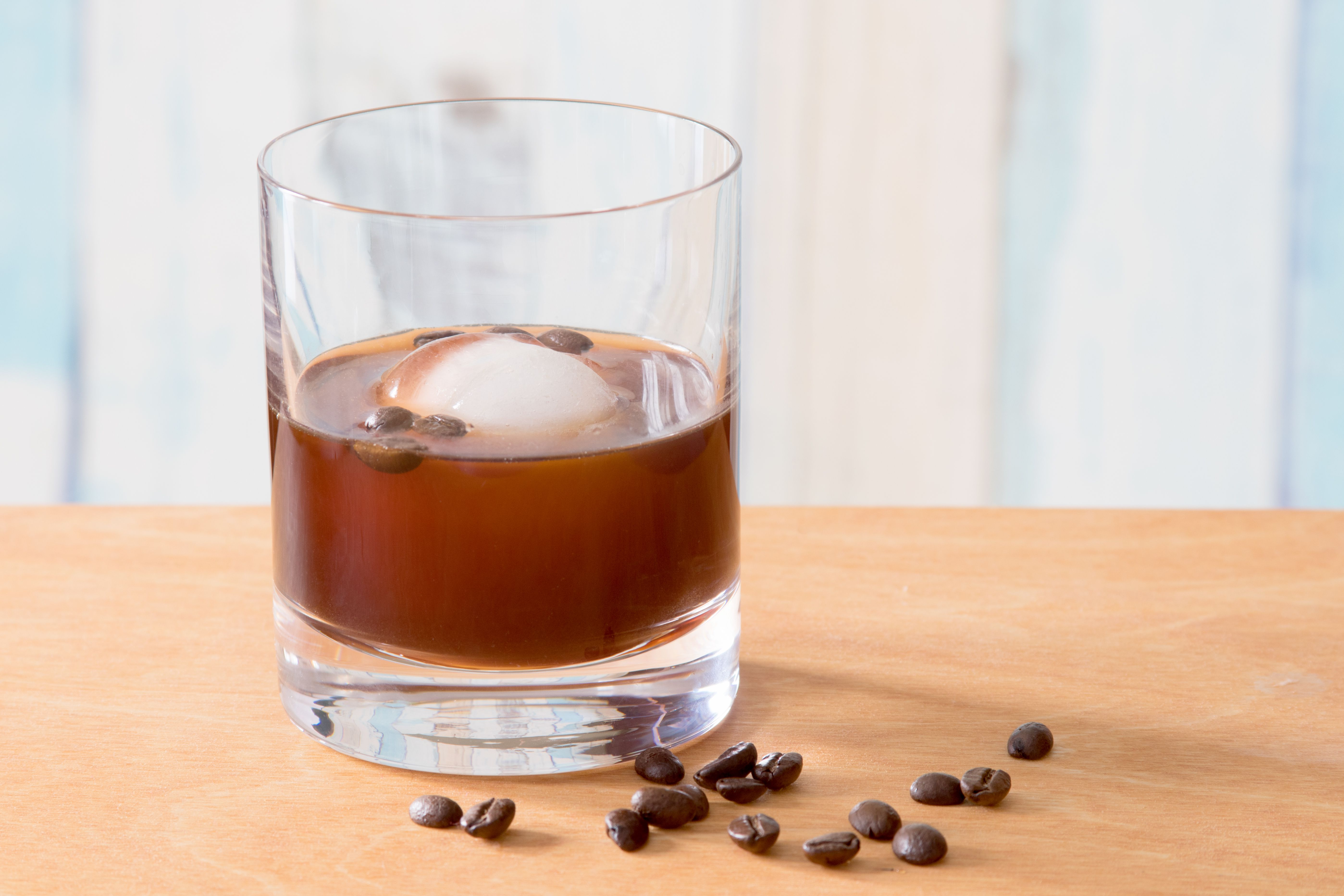 Coffee Old-Fashioned Cocktail