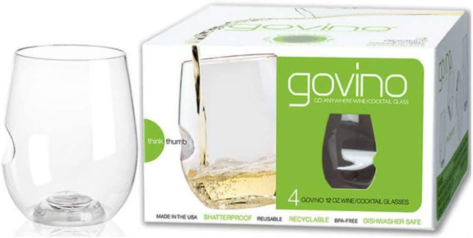 GoVino Shatterproof Outdoor Wine Glasses