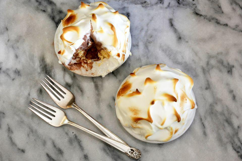 baked alaska, single serve