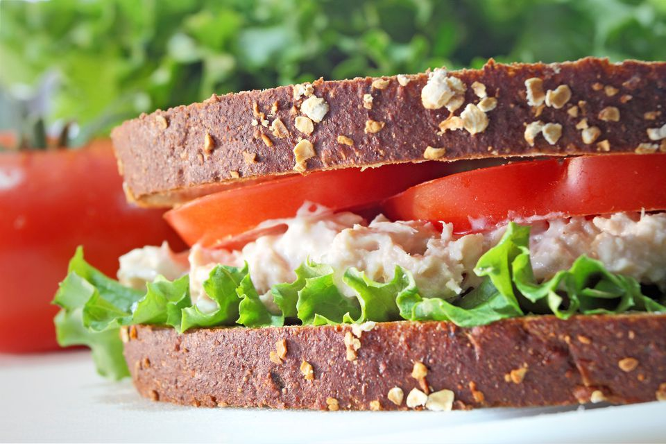 fish spread sandwich