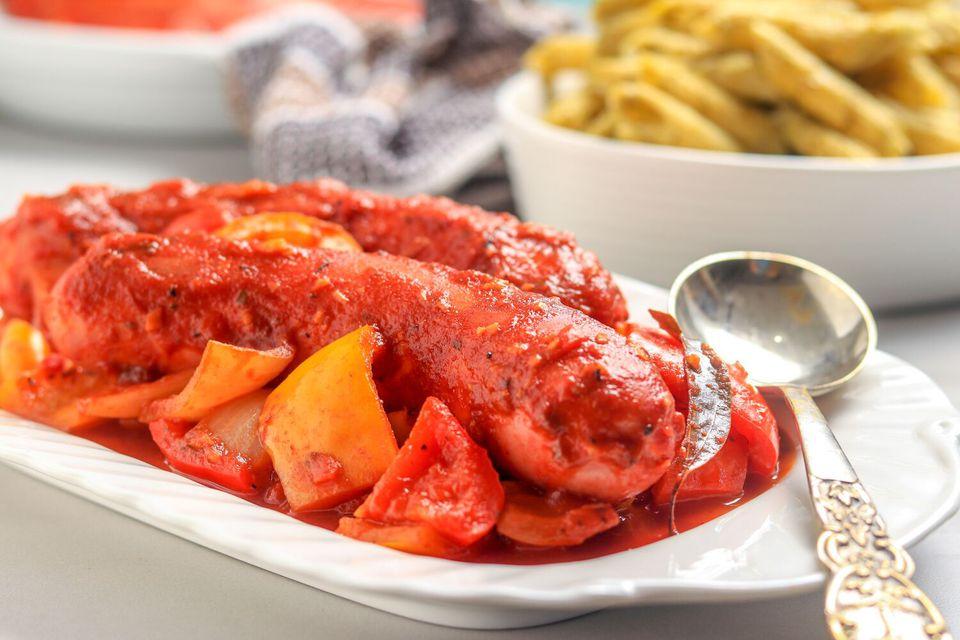 Crock pot Italian sausage