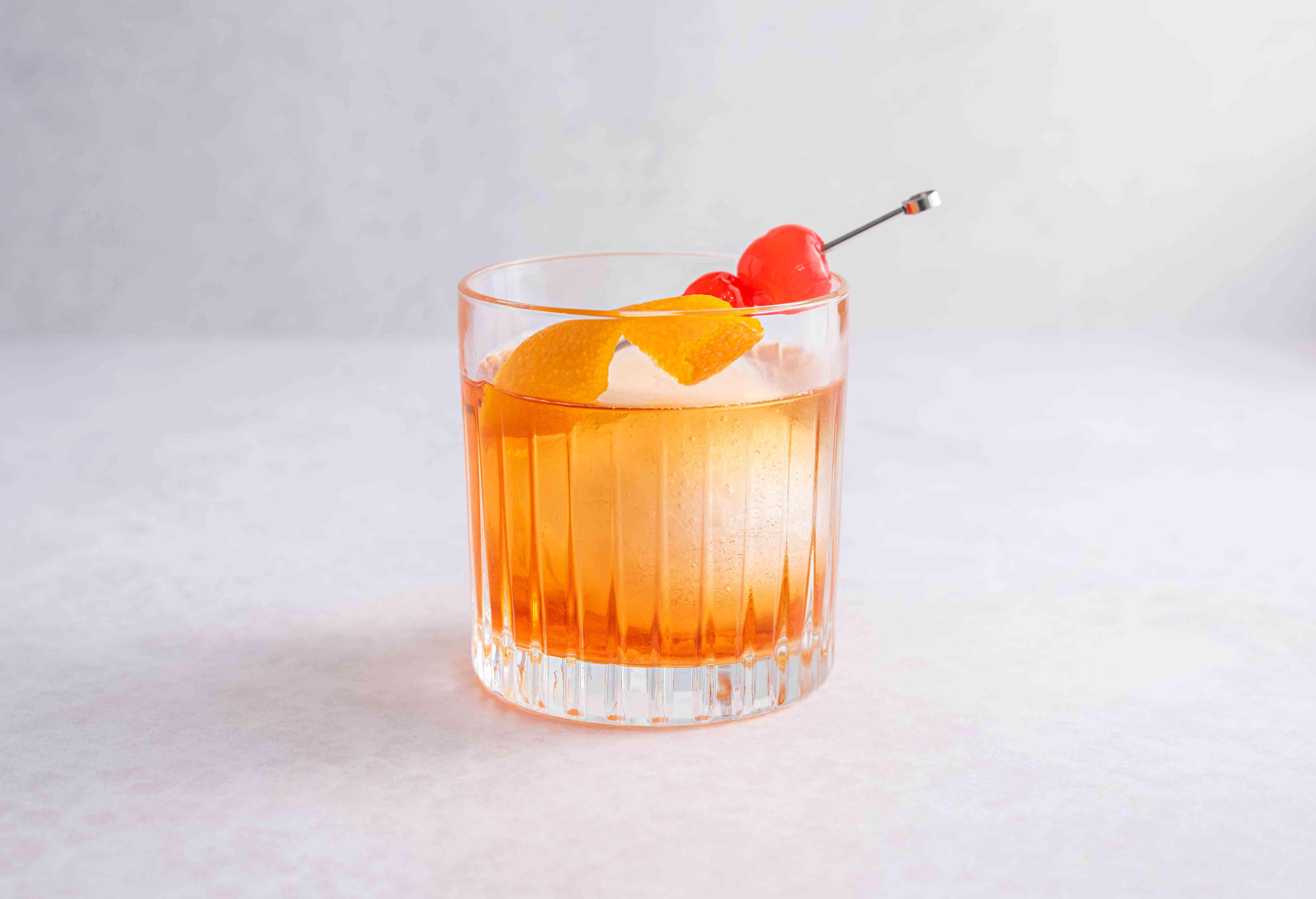 Peel on cocktail