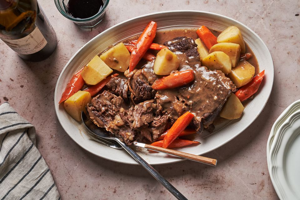 Easy Stovetop Pot Roast With Vegetables