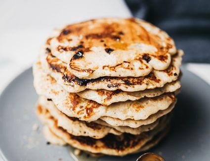 Fluffy chocolate chip pancake recipe