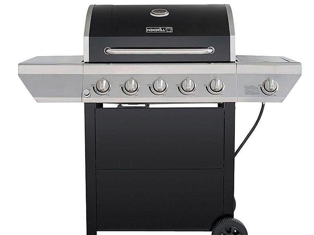 Nexgrill Gasgrill Test : Nexgrill burner propane grill model  review
