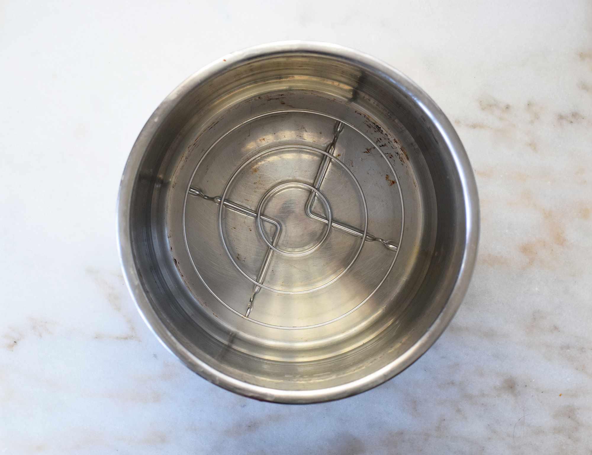 instant pot trivet over water in instant pot insert