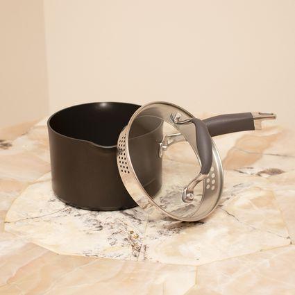 Anolon Advanced 2-Quart Straining Saucepan