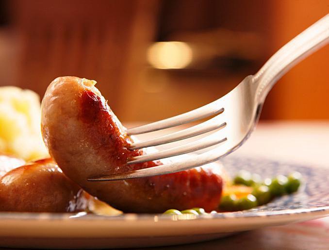 British Sausage
