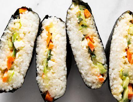 Onigirazu Rice Ball Sandwich
