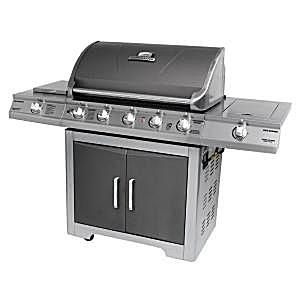 Brinkmann 5-Burner Sear and Side Burner Model #810-8501-S