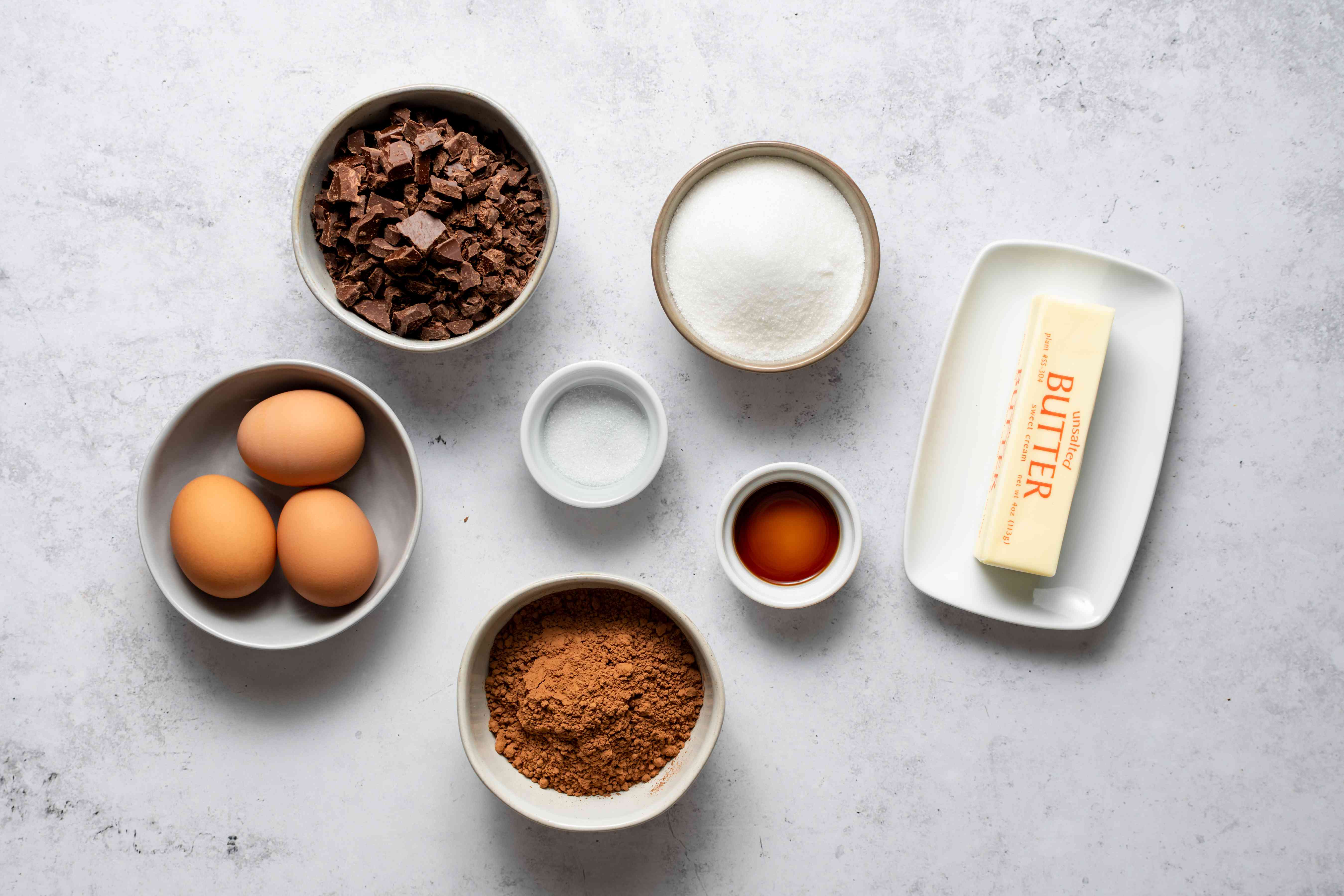 Gluten-Free Chocolate Cake With Chocolate Glaze ingredients