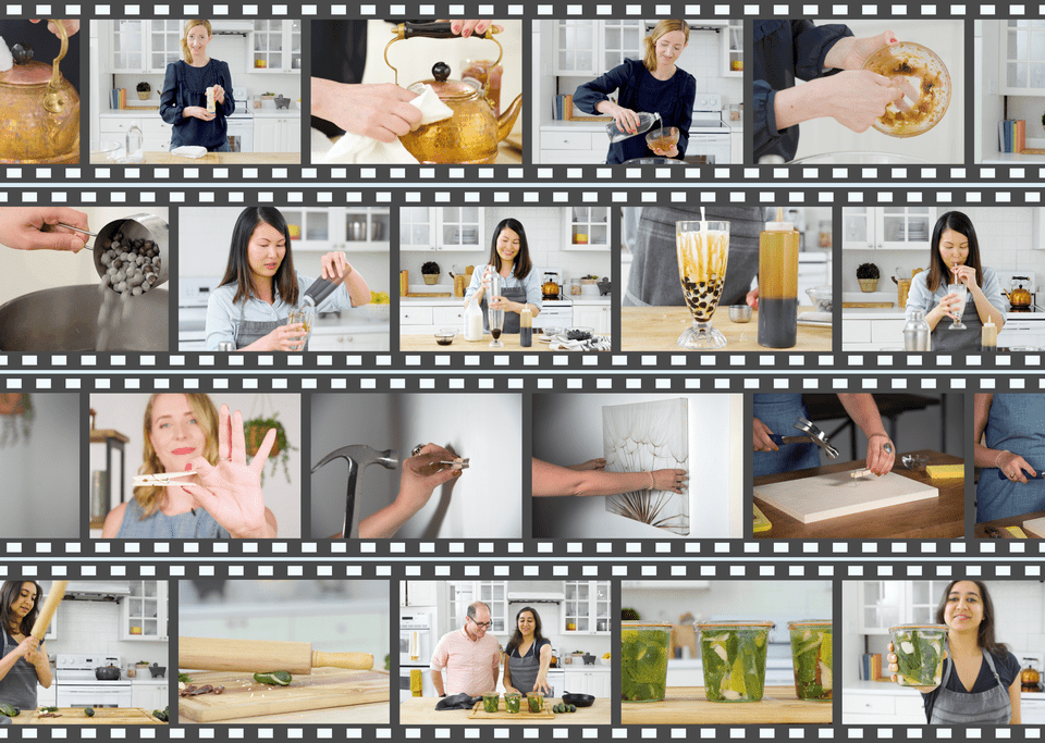 Collage of Spruce and Spruce Eats team