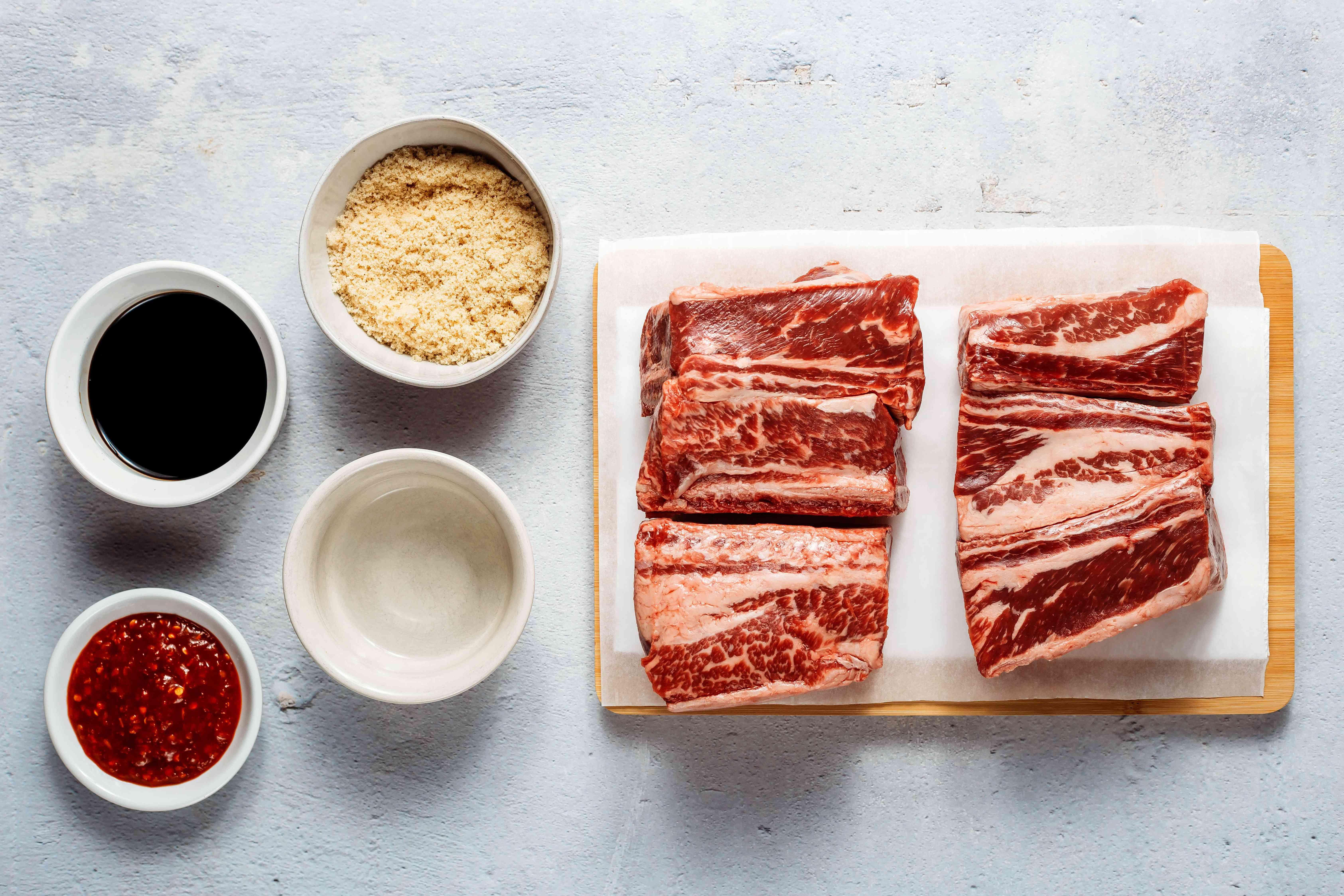 Slow Cooker Asian Beef Short Ribs ingredients