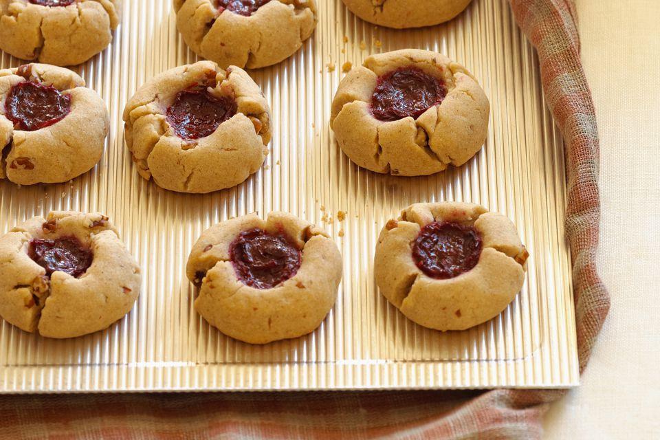 Filled Thumbprint Cookies