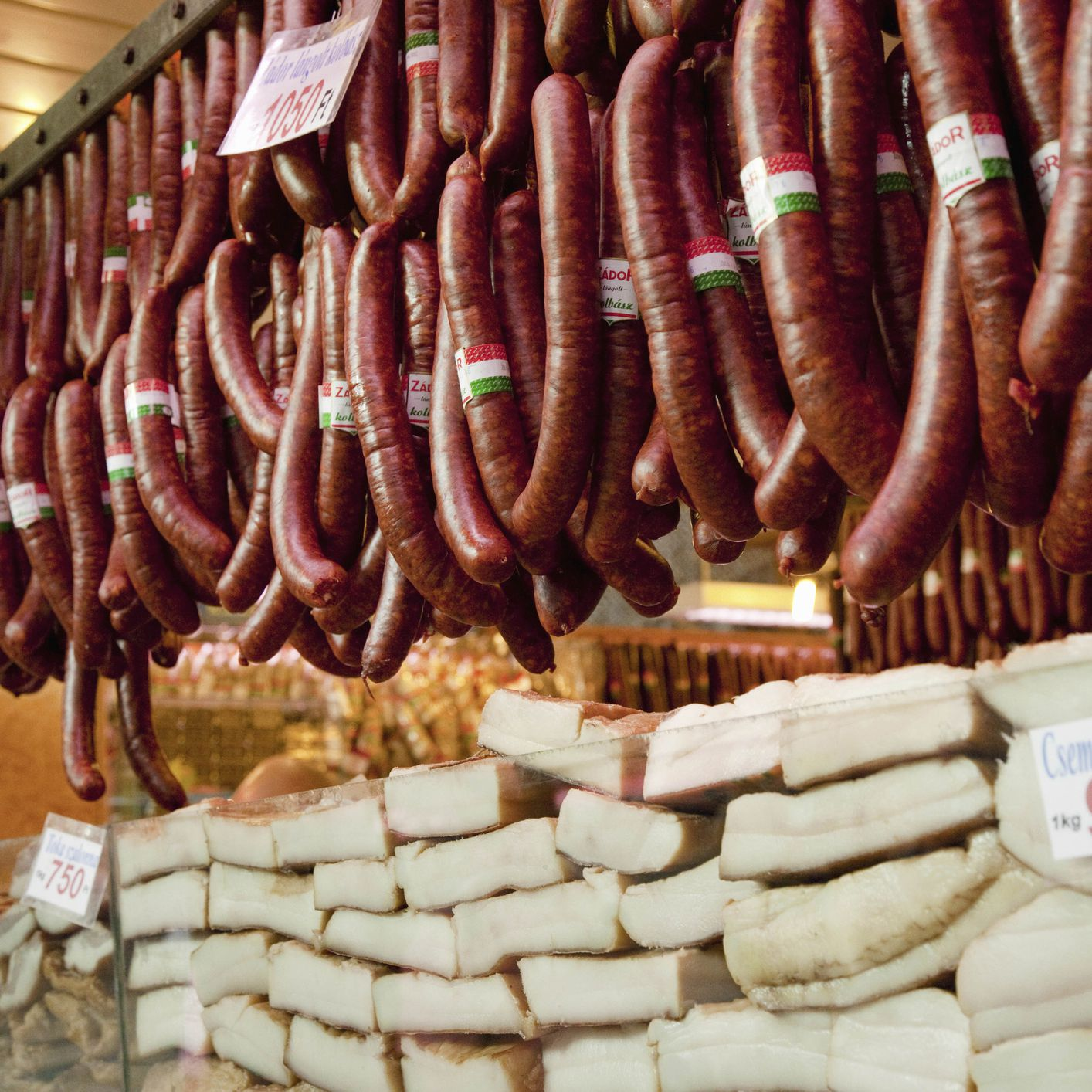The Differences Between Kolbasz Or Hungarian Sausages