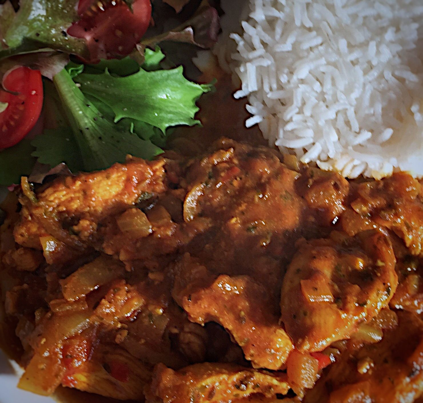 Anglo-Indian Country Captain Chicken Curry
