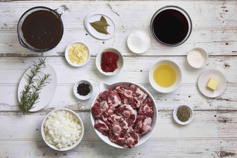 Braised oxtail recipe ingredients