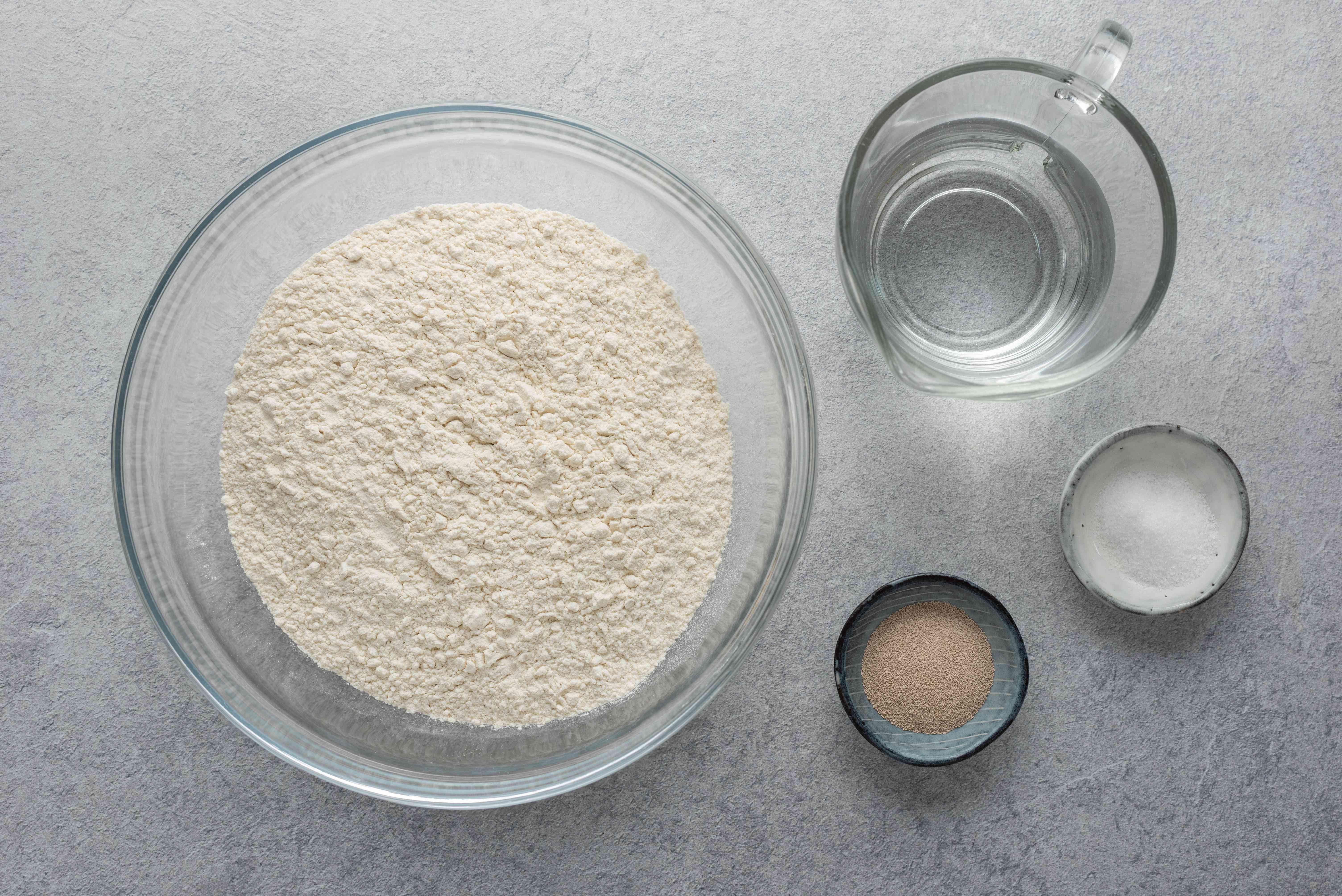 Lo Sfincione, The Original Sicilian-Style Pizza, dough ingredients