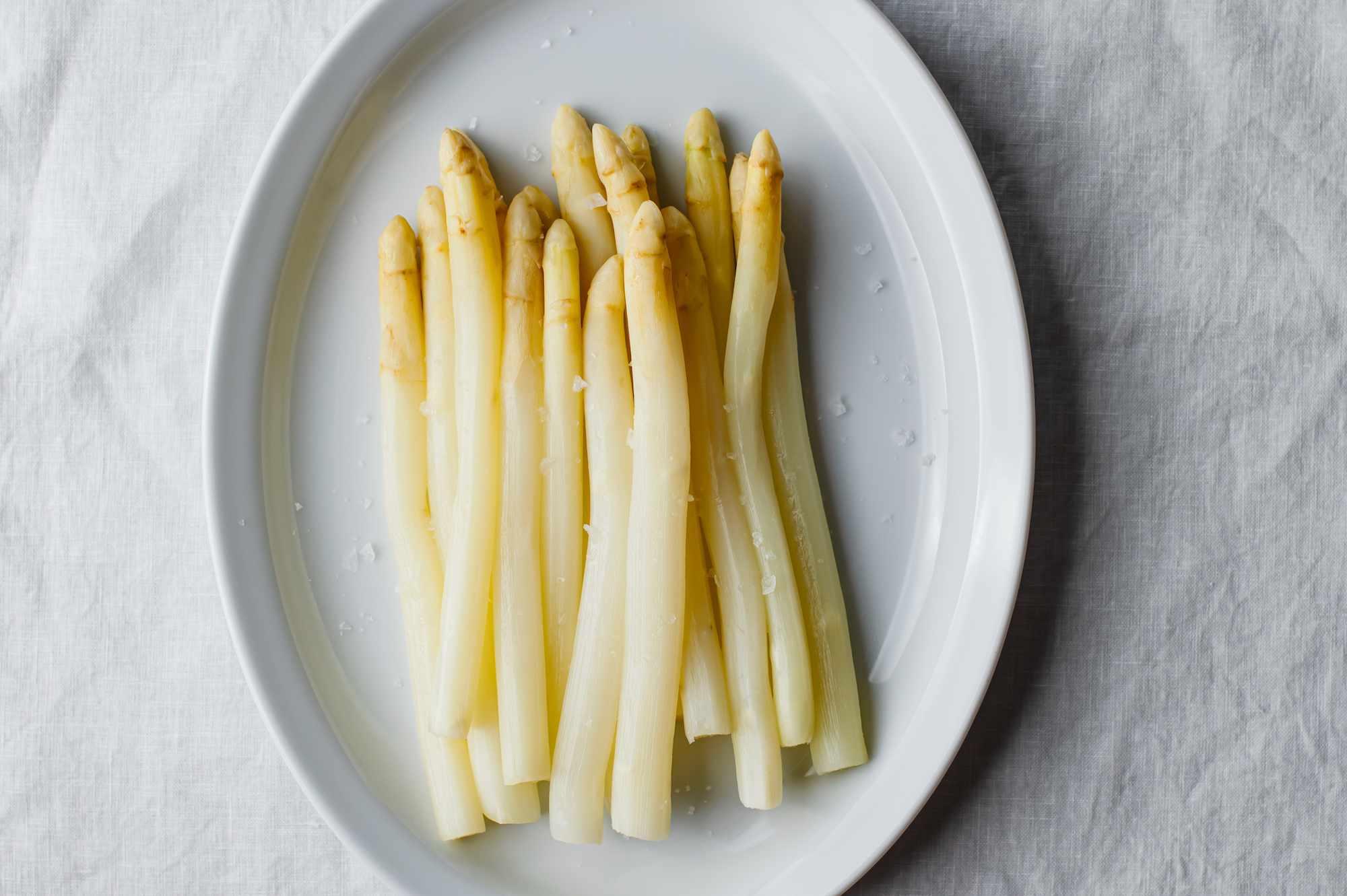 Drain asparagus