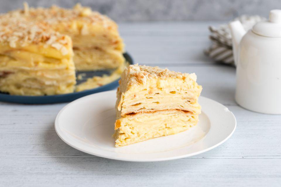 Receta de pastel ruso de Napoleón (Torta de Napolyeon)