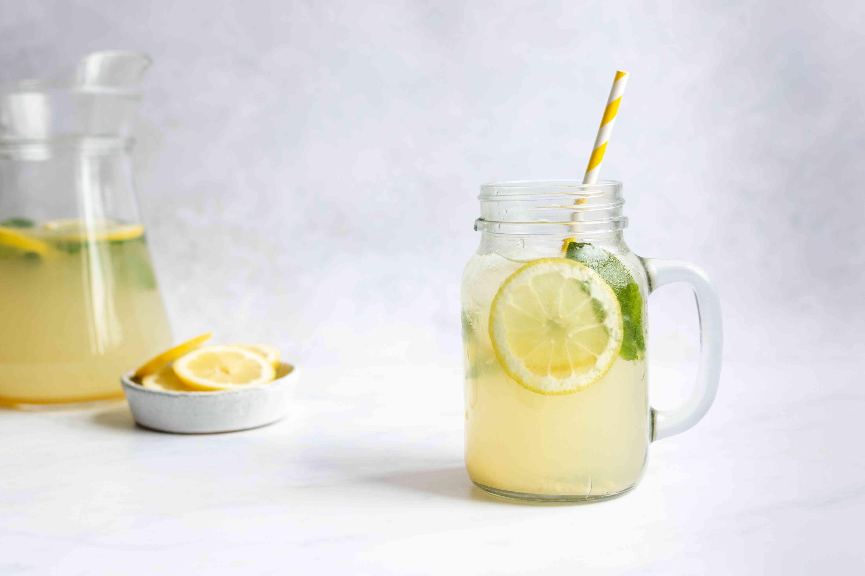 Homemade Agave Lemonade