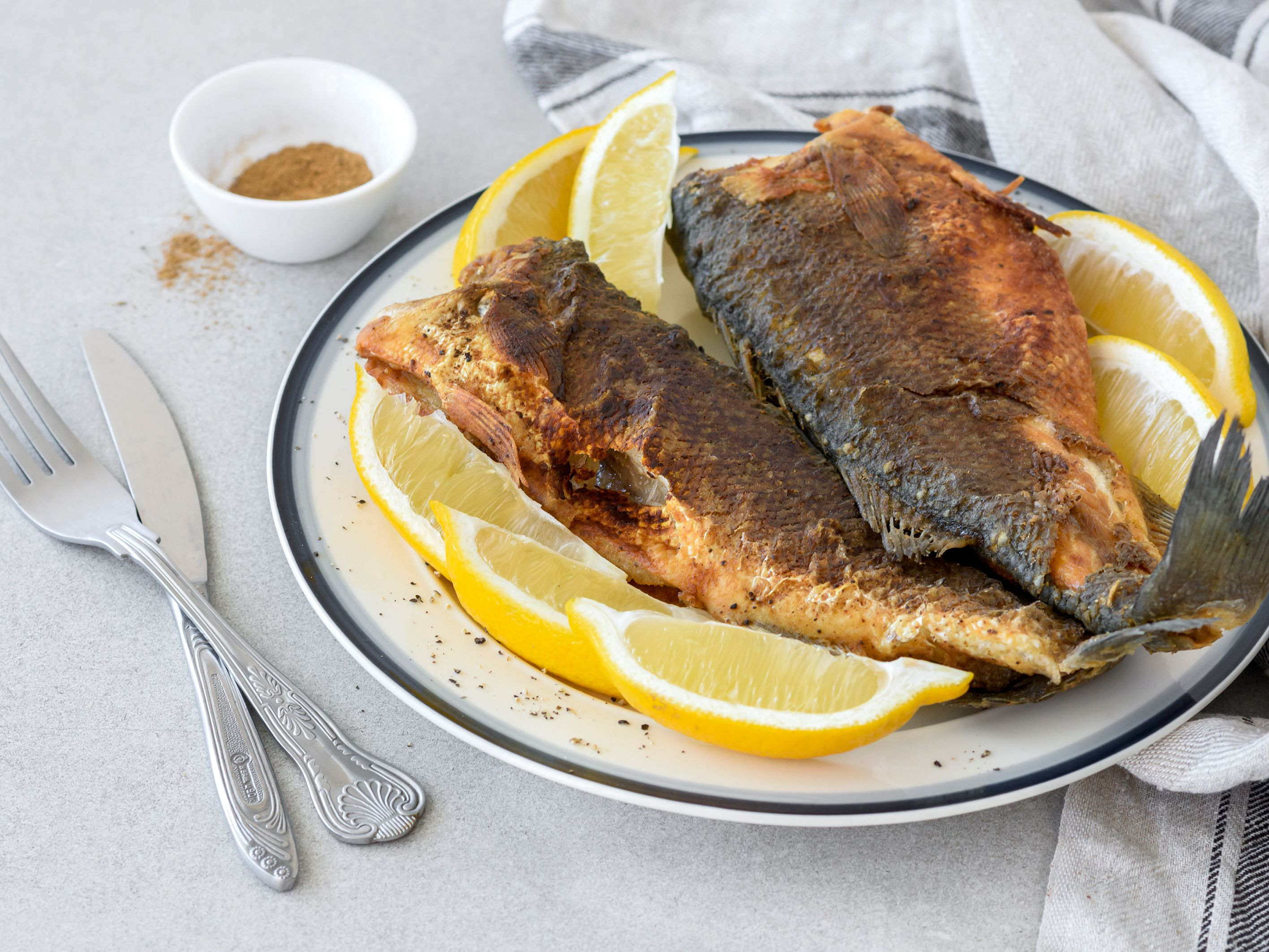 Moroccan Fried Fish Recipe With Hake Or Whiting