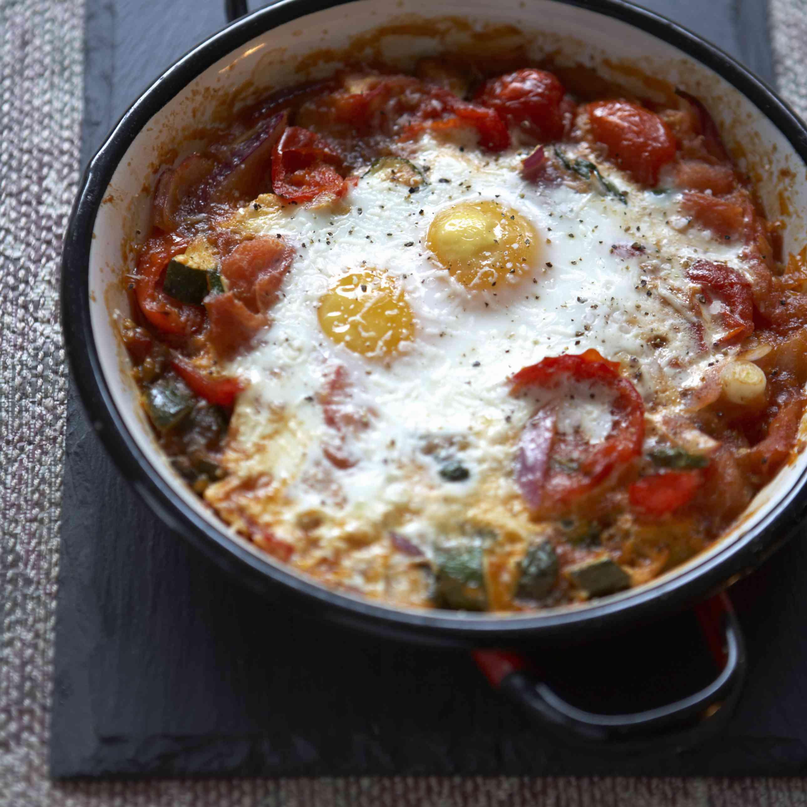 Spanish purgatory eggs recipe