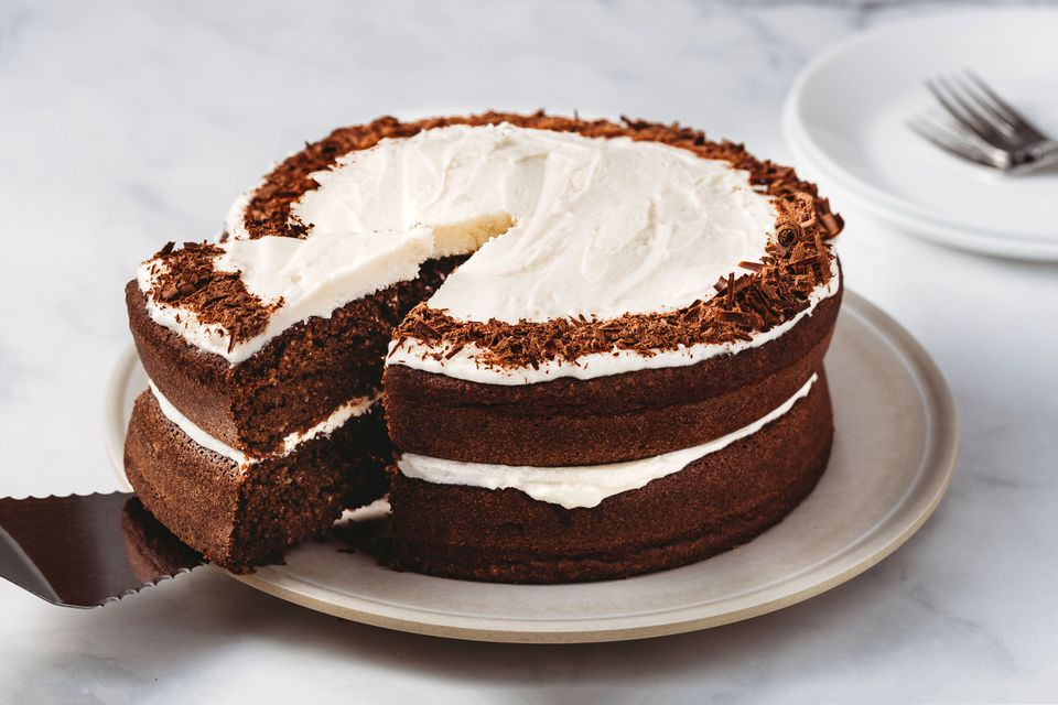 Chocolate Keto Birthday Cake