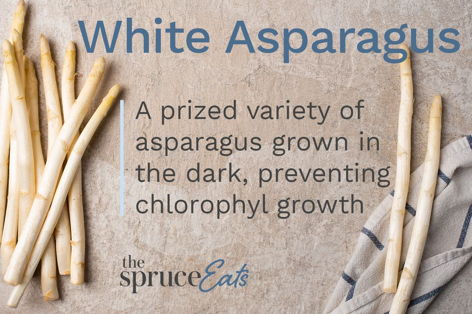 what is white asparagus
