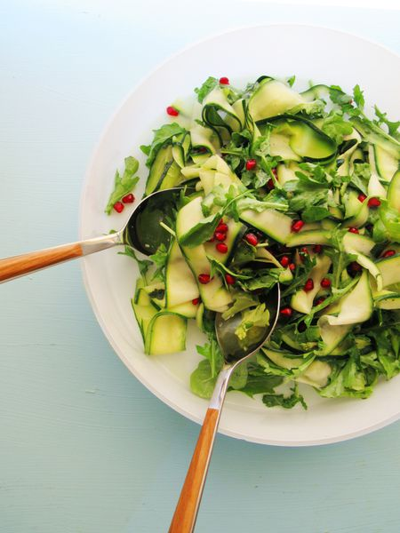 red and green salad