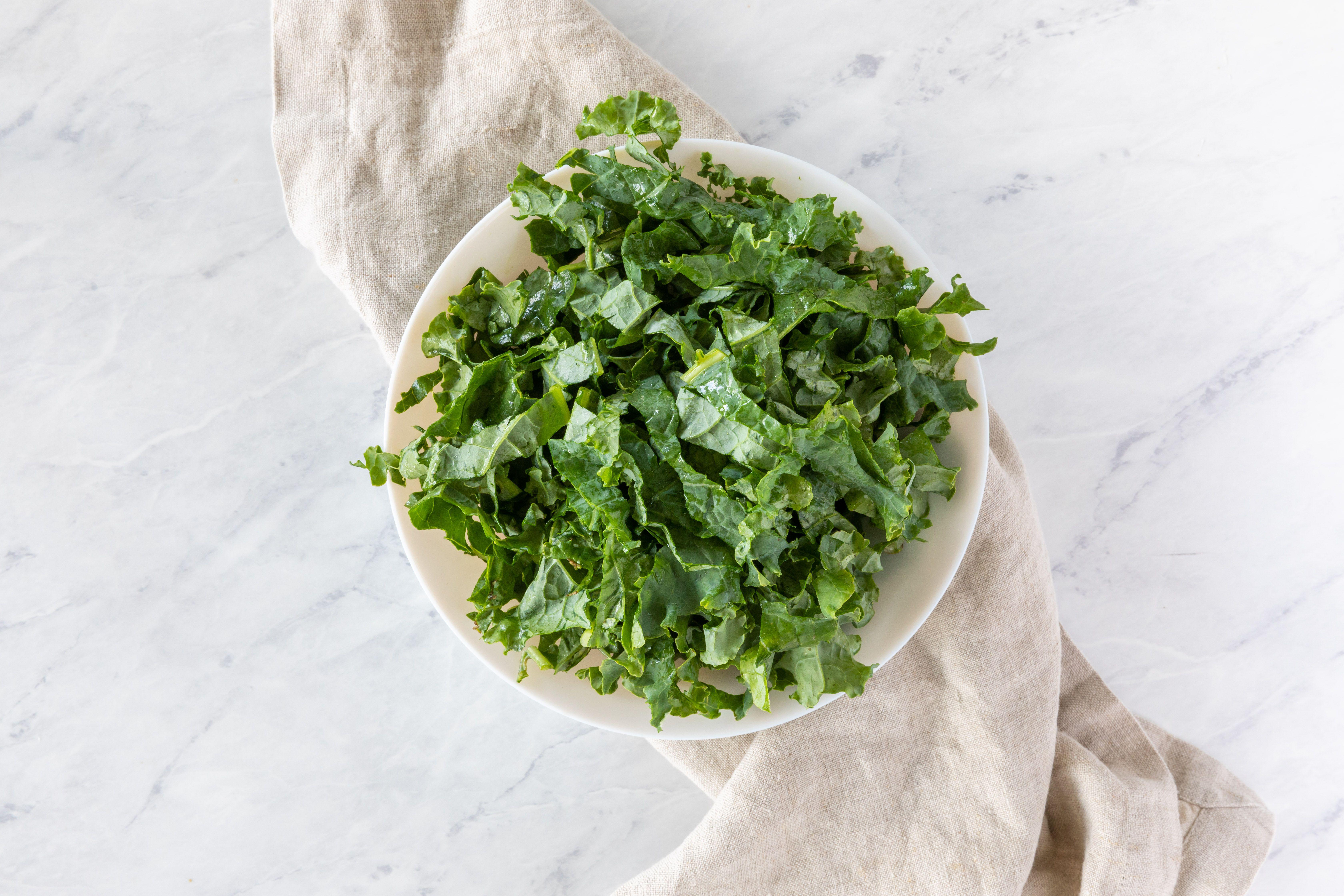 Chop the kale