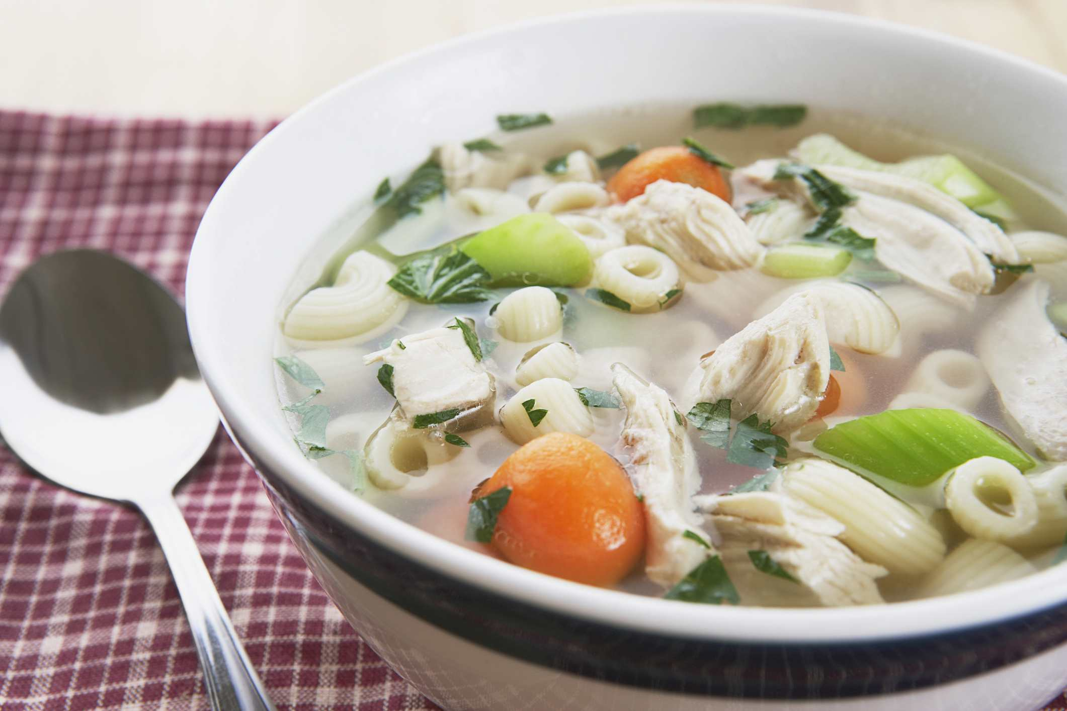 Polish Chicken Noodle Soup