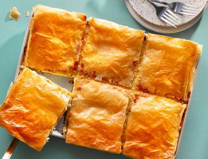 Greek Leek Pie Recipe (Phyllo Pie)