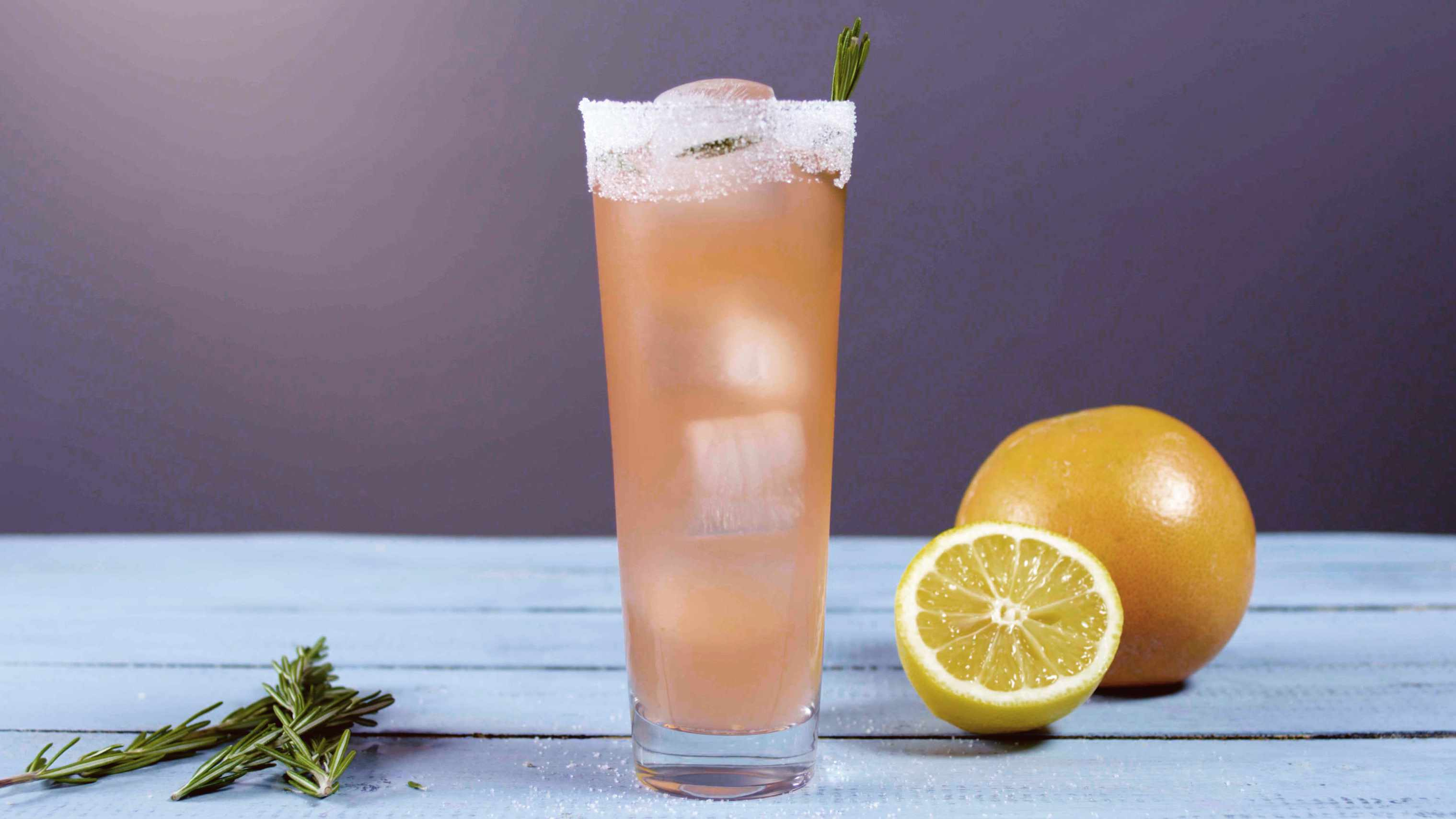 Pretty in Pink cocktail