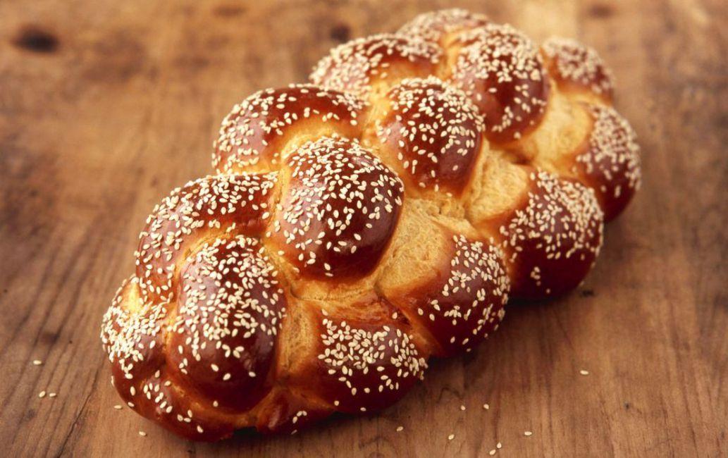 Bread Machine Braided Challah