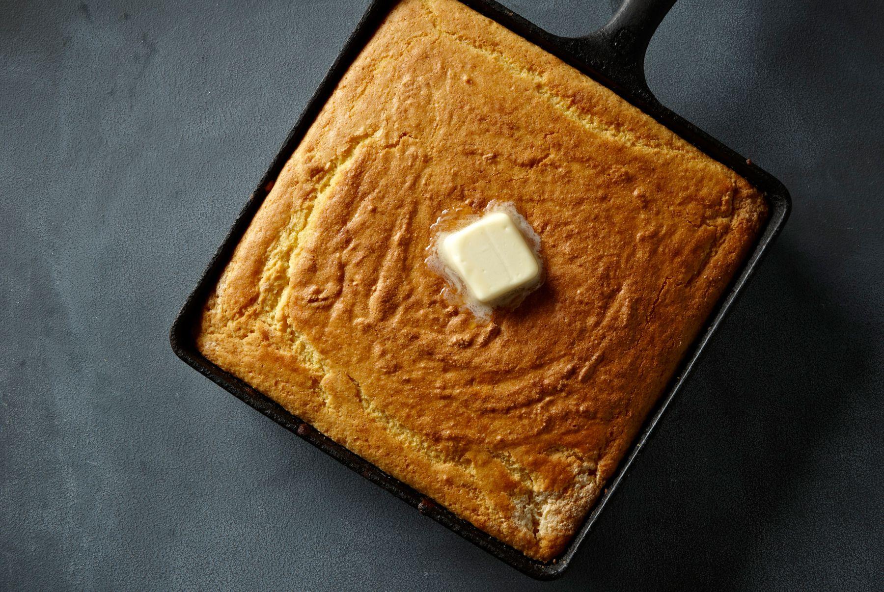 Moist Custard Cornbread