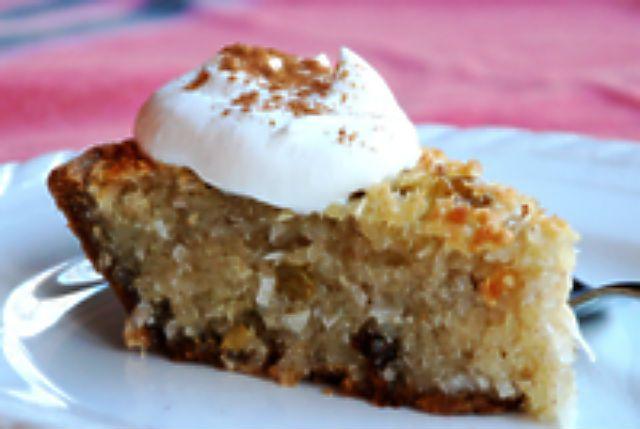 Receta de pastel de coco y yuca Bojo