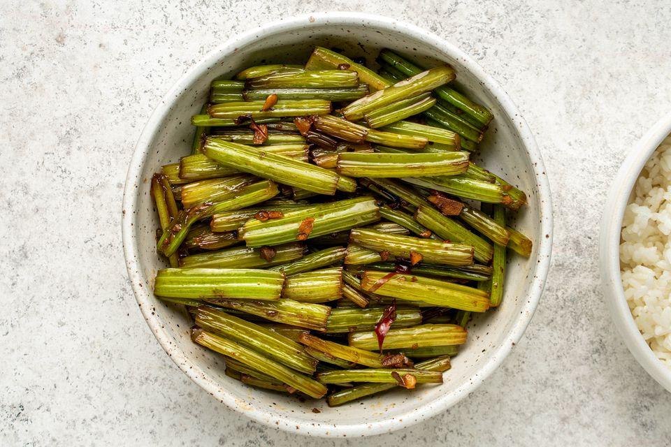 Stir-Fry Chinese Celery