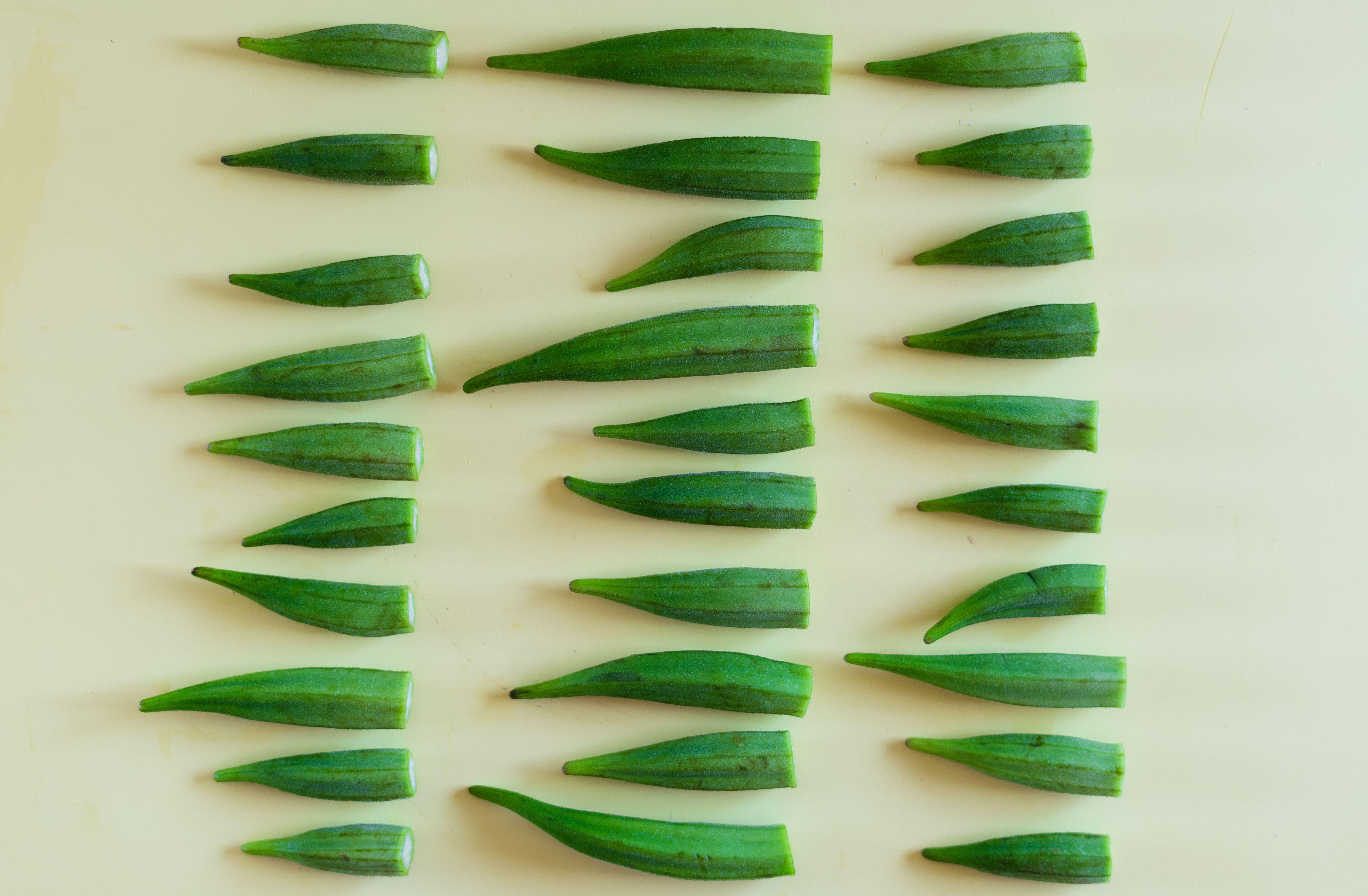 Garlic Sautéed Okra