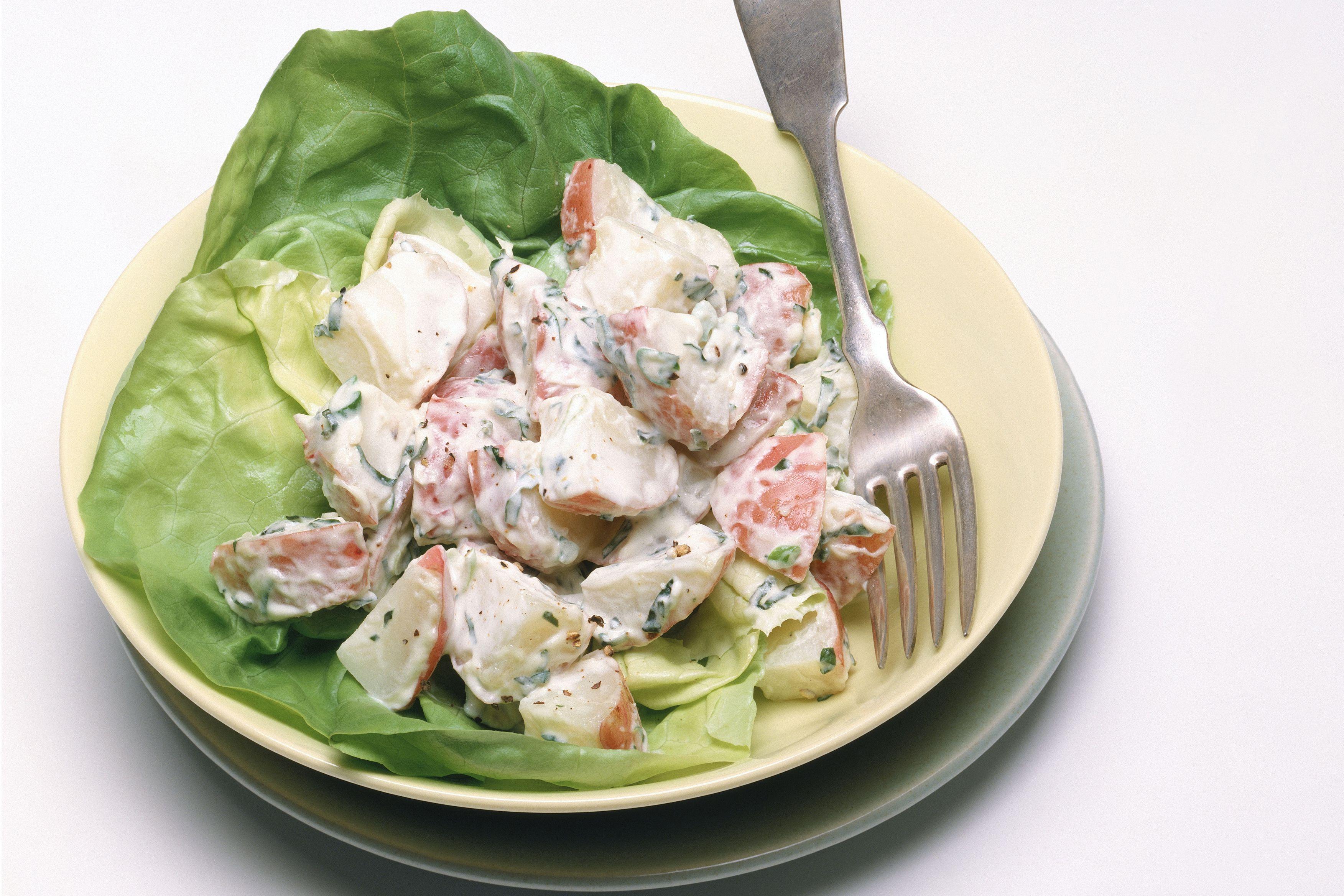Red Potato Salad Recipe No Mayo