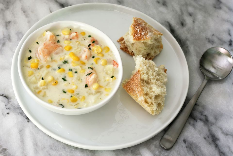 corn seafood chowder