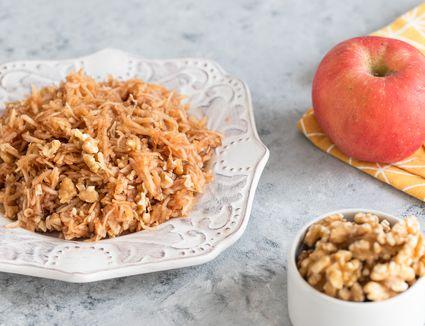 Apple and walnut charoset