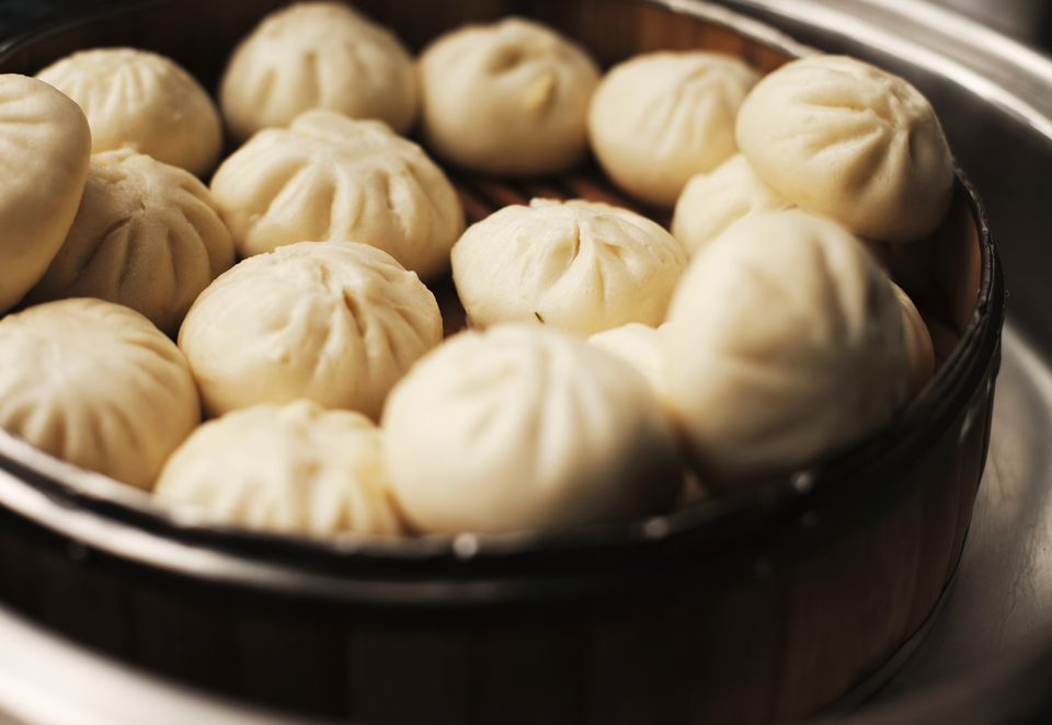 Chinese steamed bread, Guangzhou, China