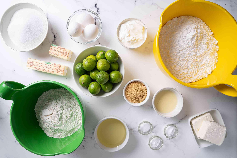 Key Lime Cake ingredients