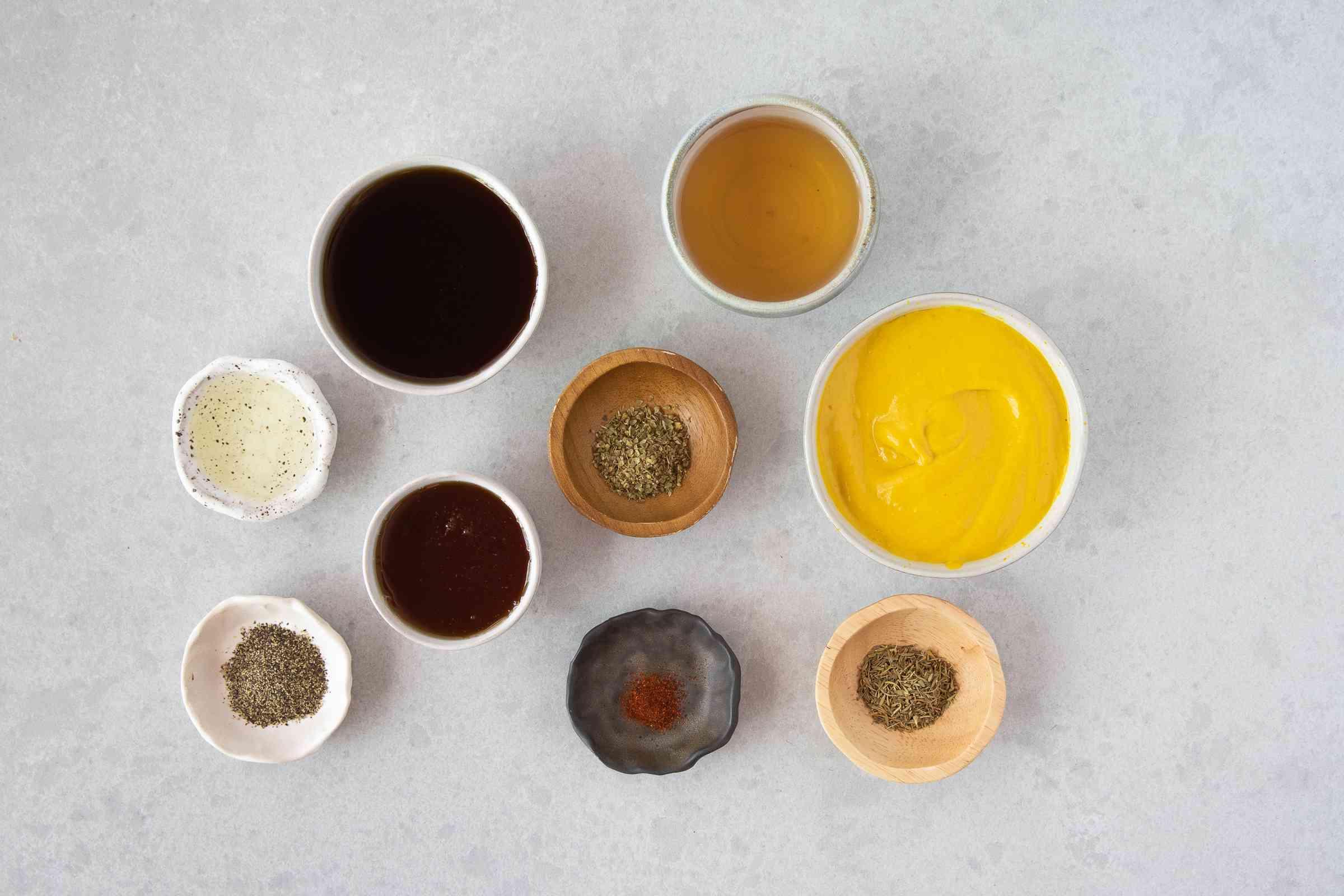 Savory 'n Sweet Mustard Sauce ingredients